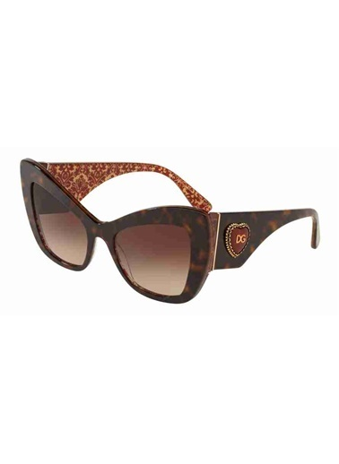 Dolce&Gabbana Dolce & Gabbana 4349 320413 54 Ekartman Kadın Güneş Gözlüğü Kahve
